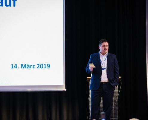 Vortrag des Geschäftsführers Patrick Dietz