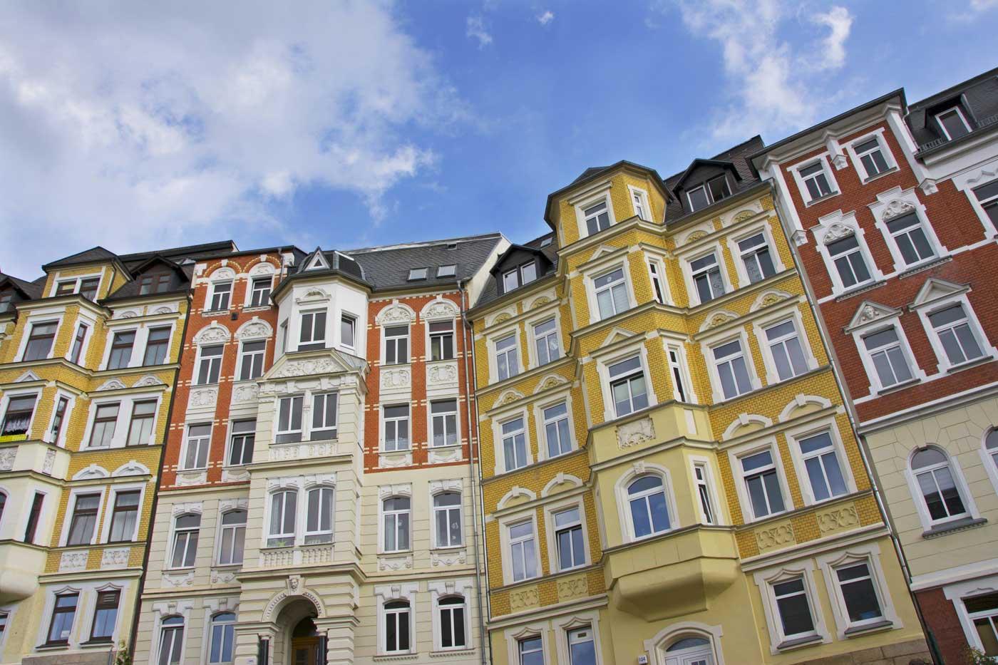 Ansicht einer Hausfassade