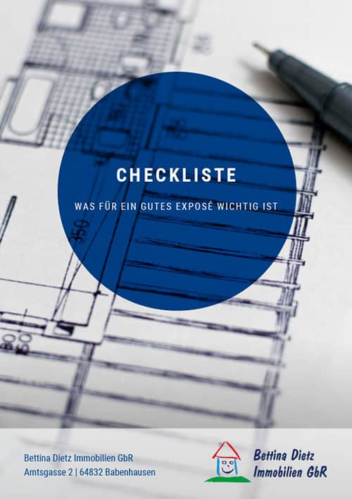Checkliste Expose