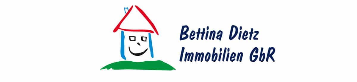 Bettina Dietz Immobilien Logo Druckansicht