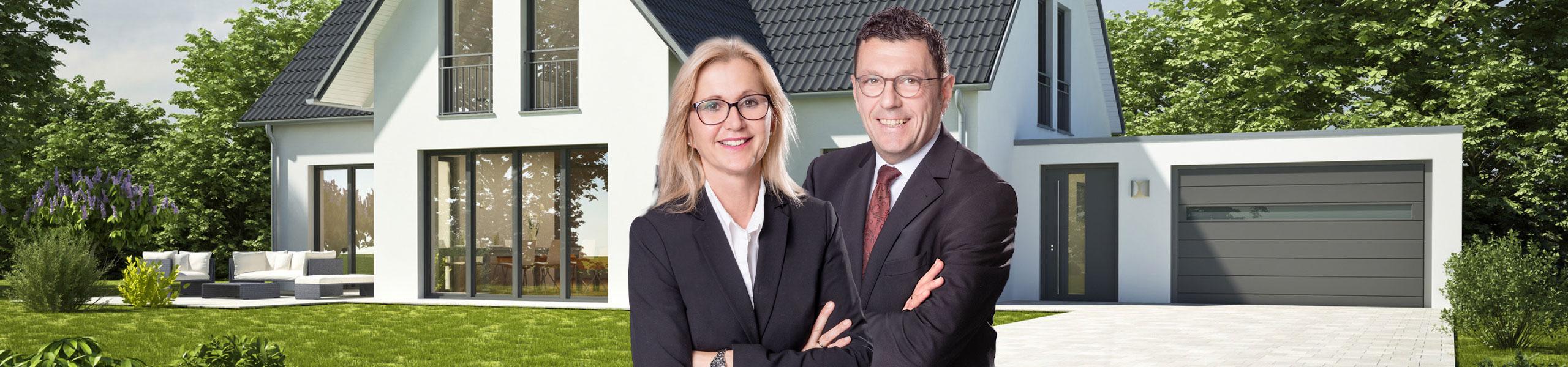 Das Bild zeigt Bettina Dietz (Geschäftsführerin) und Gerhard Neff (Vetriebsleitung)