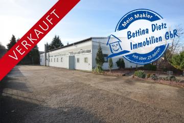 **VERLAUFT**DIETZ: Provisionsfreie, beheizte Gewerbehalle in 64850 Schaafheim – OT zu verkaufen!, 64850 Schaafheim, Lager