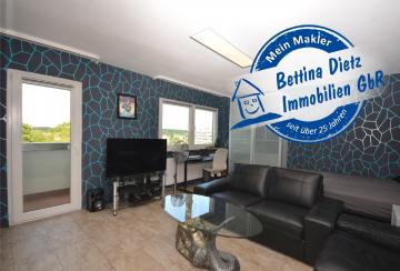 **RESERVIERT**DIETZ: Freiwerdendes, voll-möbliertes 1-Zimmer-Appartment in Dietzenbach zu verkaufen!, 63128 Dietzenbach, Etagenwohnung