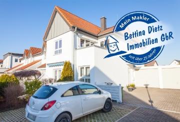 DIETZ: Erdgeschoss- / Terrassen- / Gartenwohnung mit Garage in zentraler Lage!, 64850 Schaafheim, Terrassenwohnung