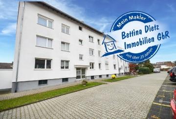 DIETZ: Letzte erschwingliche 3 Zi. Dachgeschosswohnung mit PKW-Stellplatz!, 64832 Babenhausen, Dachgeschosswohnung