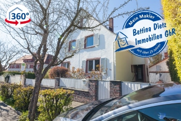 DIETZ: Einfamilienhaus auf großem Grundstück in familienfreundlicher Wohnlage!, 64823 Groß-Umstadt, Einfamilienhaus