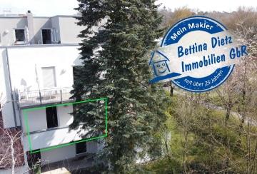 DIETZ: 3 Zimmer-Wohnung in Dieburg – Randlage – Balkon – 2 Parkplätze – WGs möglich!, 64807 Dieburg, Etagenwohnung