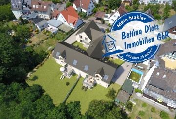 DIETZ: NEUBAU-Doppelhaushälfte Nur 5 Minuten Fußweg zum Floßhafen!, 63743 Aschaffenburg, Doppelhaushälfte