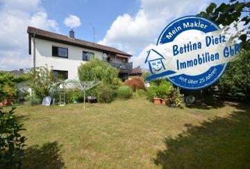 DIETZ: Großzügige 4-Zimmer-Wohnung mit großem Garten, Garage und Sonnenterrasse!, 64832 Babenhausen, Erdgeschosswohnung