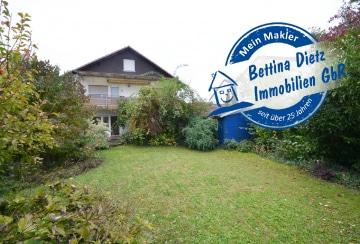 DIETZ: 4-Zimmer-Terrassenwohnung mit eigenem Garten und Garage! Tolle, ruhige Wohnlage!, 64823 Groß-Umstadt, Terrassenwohnung