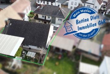 DIETZ: 2 Wohnhäuser in Groß-Umstadt – Dorndiel – Ländliche, ruhige Wohnlage!, 64823 Groß-Umstadt, Mehrfamilienhaus