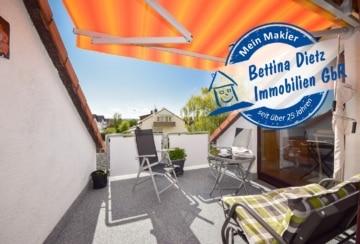 DIETZ: Sonnige und gepflegte 3-Zimmer-Wohnung in begehrter Lage von Münster!, 64839 Münster, Dachgeschosswohnung