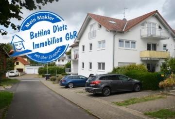 DIETZ: Moderne 3-Zimmer-Eigentumswohnung FAST-FELDRAND mit Einbauküche, Gäste-WC, Wanne+Dusche, 64823 Groß-Umstadt, Etagenwohnung