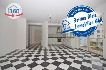 DIETZ: VERKAUFT!!! 3-Zi-Wohnung mit Einbauküche, Tiefgarage, Balkon, S-Bahn-Nähe!, 63110 Rodgau, Etagenwohnung