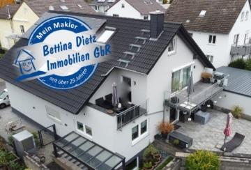 DIETZ: **TOP** 3-4 Zimmer Neubauangebot mit Fußbodenheizung – Balkon + Dachterrasse – Wohnen Essen Kochen in EINEM!, 63762 Großostheim, Maisonettewohnung