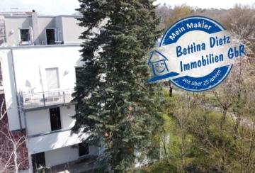 DIETZ: Gepflegte 3 Zimmer-Wohnung in Dieburg – Randlage – 2 PKW-Stellplätze inkl – WG-tauglich, 64807 Dieburg, Etagenwohnung