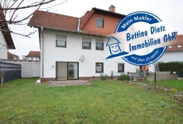 DIETZ: Moderne 2-Zimmer-Terrassenwohnung mit eigenem Garten, Einbauküche und 2 PKW-Stellplätze!, 64839 Münster, Terrassenwohnung