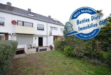 DIETZ: OPEN-HOUSE am 09.11.19! Reihenhaus mit Garage und Garten in Randlage in Hainhausen, 63110 Rodgau, Reihenmittelhaus