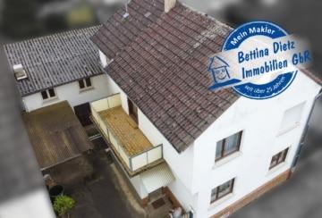 DIETZ: Immobilie für die kleine Familie mit Nebengebäude – Alternative zur Eigentumswohnung, 64850 Schaafheim, Einfamilienhaus