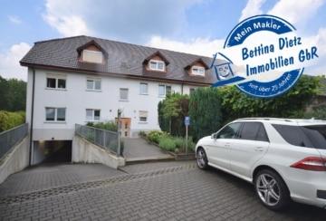 DIETZ: 3-Zimmer-Dachgeschosswohnung + 24qm ausgeb. Spitzboden! Tiefgaragenstellplatz! Einbauküche!, 64846 Groß-Zimmern, Maisonettewohnung