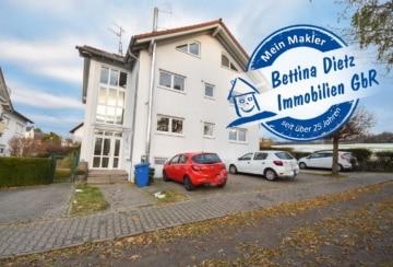 DIETZ: 2 Wohnungen zu Einer verbunden in einem gepflegten MFH in Klein-Umstadt! Balkon, 1 PKW-Stellplatz, 2 Kellerräume, 64823 Groß-Umstadt, Etagenwohnung