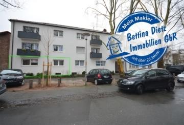 DIETZ: Modernisierte 3-Zimmer-Erdgeschosswohnung mit Einbauküche, nahe Orangerie!, 64285 Darmstadt, Erdgeschosswohnung