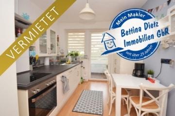 **VERMIETET**DIETZ: 4-Zimmer-Wohnung im ersten OG mit Balkon optionale Einbauküche, 63739 Aschaffenburg, Etagenwohnung