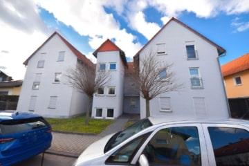 DIETZ: Vermietete 2-Zi. ETW im 1. OG mit Balkon – TG-Stellplatz – Keller und FB-Heizung!, 64832 Babenhausen, Etagenwohnung