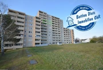 DIETZ: Vermietete 2-Zimmer-Wohnung im 9 Obergeschoss inklusive Tiefgaragenstellplatz zu verkaufen!, 63322 Rödermark, Etagenwohnung