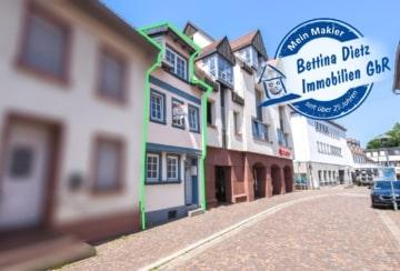 DIETZ: Stadthaus am Dieburger Marktplatz! Hier wohnen Sie zentral, ruhig und individuell!, 64807 Dieburg, Einfamilienhaus