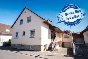DIETZ: Einzugsbereites Zweifamilienhaus mit idyllischem Garten im schönen Gundernhausen!, 64380 Roßdorf, Zweifamilienhaus