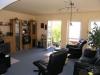 Exklusive Doppelhaushälfte in bester ruhiger Lage von - Blick ins lichtdurchflutete Wohnzimmer