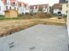 Nagelneue DHH (5 Zimmer) hochwertig mit Granitböden. Fußbodenheizung usw. Mit trendiger Architektur - Blick auf die Terrasse