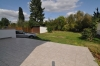 Tolles komplett neu renoviertes Einfamilienhaus (ERSTBEZUG) mit großem Garten und Garage direkt in Babenhausen! - Blick von Garten auf Terrasse