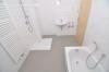 Energiesparendes Wohnen im Klimahaus in Babenhausen  Baugebiet OST! Fußbodenheiz., Balkon, Gäste WC, Garage, uvm. - Weitere Badansicht