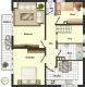 **VERMIETET**DIETZ: 3 Zimmerwohnung im 1. OG mit großem SÜD-Balkon - Einbauküche inkl. - barrierefreie Dusche uvm. - RENOVIERT!! - Grundriss