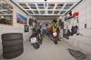 **VERMIETET**DIETZ: 2 Zimmer Erdgeschosswohnung mit extrabreiter Garage SÜD-WEST-Balkon, Fußbodenheizung, Solaranlage -KfW-60-Haus - Extrabreiter Tiefgaragenstellplatz