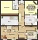 **VERMIETET**DIETZ: Fast wie im Haus! 6 Zimmer Maisonette Wohnung - - 2 Bäder - 2 PKW-Stellplätze - großer gemeinsamer Hof - Grundriss 1. Obergeschoss