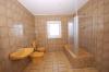 **VERMIETET**DIETZ: Renovierte 4 Zimmer Wohnung mit Balkon und  Garten in bevorzugter Lage! Garage möglich! - Helles gepflegtes Tageslichtbad