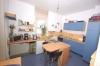 **VERMIETET**DIETZ: Großzügige und  gemütliche 6 Zimmerwohnung im wunderschönen Fachwerkhaus - Einblick Küche