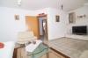 **VERMIETET**DIETZ: Moderne 3 Zimmerwohnung mit Balkon, Fussbodenheizung, Wanne+Dusche, PKW-Stellplatz - Weiterer Wohnzimmerblick