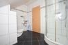 **VERMIETET**DIETZ: Teilmöblierte Dachgeschosswohnung mit Einbauküche Gartennutzung Fußbodenheizung Neubaugebiet Hergershausen! - Tageslichtbad mit Dusche