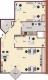 **VERMIETET**DIETZ: Provisionsfreie Büroflächen mit 3 Büroräumen - Küche - Badezimmer mit Dusche - Balkon - Grundriss