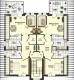 **VERMIETET**DIETZ: +++Neubauwohnung 2 Zimmer mit Balkon - Fußbodenheiz. - PKW-Stellplatz - 6 Familienhaus - Jügesheim - Grundriss Dachgeschoss