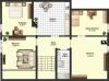 **VERMIETET**DIETZ: 3,5 Zimmerwohnung mit Einbauküche im Dachgeschoss eines 3 Fam-Haus in Münster für 3 Personen - Grundriss
