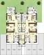 DIETZ: 3-Zimmer Neubau mit Balkon - Gäste-WC - Fußbodenheizung - Jügesheim - Grundriss Obergeschoss