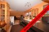 **VERMIETET**DIETZ: Große 3 Zimmerwohnung mit brandneuem Tageslichtbad - Einbauküche inkl. - Ruhige Waldrandlage - Wohn-Essbereich mit Holzofen