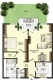 **VERMIETET**DIETZ: 2 Zimmer Terrassen-, Gartenwohnung mit Einbauküche - Gäste-WC - 2 Garagenstellplätze inklusive - Schematischer Grundriss