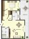 **VERMIETET**DIETZ: Barrierefreie 2 Zimmerwohnung mit Aufzug - Dachterrasse - Einbauküche- Fußbodenheizung - Schematischer Grundriss