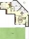 DIETZ: 2 Zi. Wohnung mit Einbauküche - eigener Gartenbereich - ruhig gelegen im Neubaugebiet - Grundriss